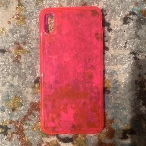 Neon Pink Phone Case iPhone XS Max